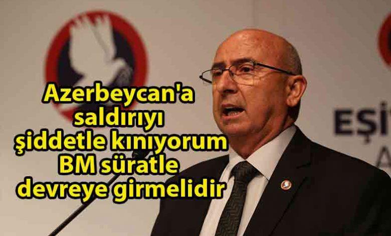 ozgur_gazete_kibris_Özyiğit_Azerbaycan'a_yönelik_saldırıyı_kınadı