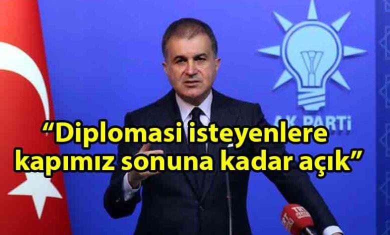 ozgur_gazete_kibris_AK_Parti_Sözcüsü_Ömer_Çelik'ten_Doğu_Akdeniz_açıklaması