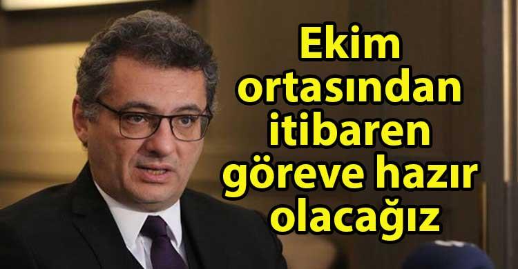 ozgur_gazete_kibris_Erhürman_Ekim_ortasından_itibaren_göreve_hazır_olacağız