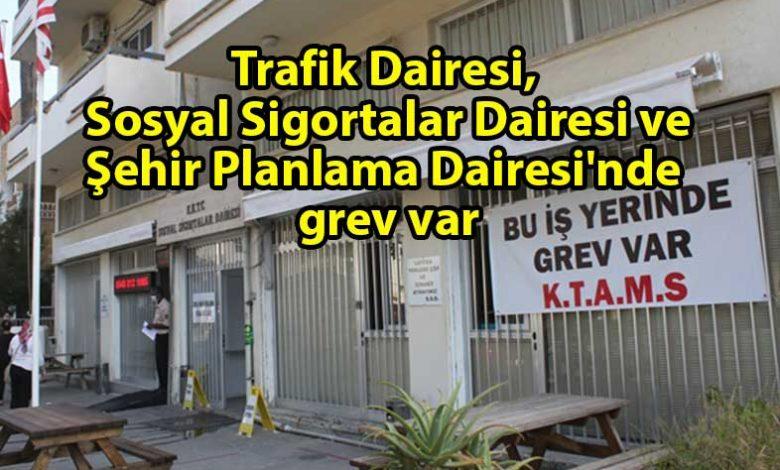 ozgur_gazete_kibris_KTAMS_3_dairede_grev_yapıyor