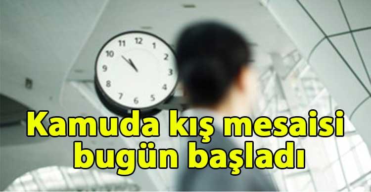 ozgur_gazete_kibris_Kamuda_kis_mesaisi_bugun_basladi