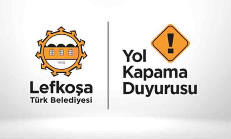 ozgur_gazete_kibris_Kermiya_bölgesindeki_iki_çember_arası_hafta_sonu_trafiğe_kapalı_olacak