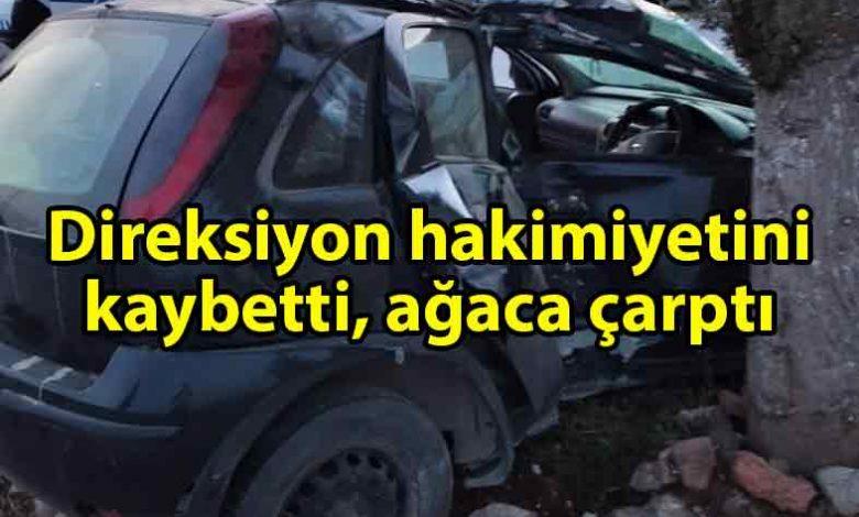 ozgur_gazete_kibris_Mehmetçik_kavşağında_çarpışma