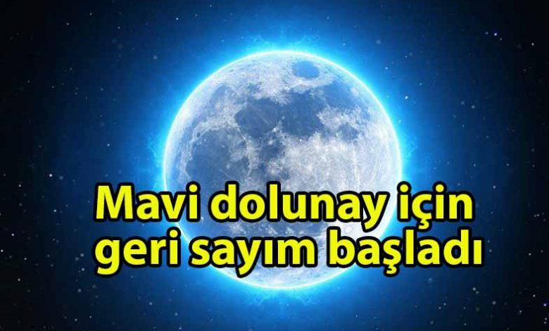 ozgur_gazete_kibris_NASA'dan_'Mavi_dolunay'_açıklaması