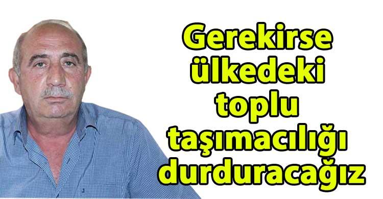 ozgur_gazete_kibris_Topaloglu_Sozlesme_yoksa_toplu_tasimacilikta_yok