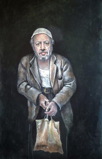 ozgur_gazete_kibris_Suriyeli_ressamdan_liderleri_multeci_olarak_cizdi10