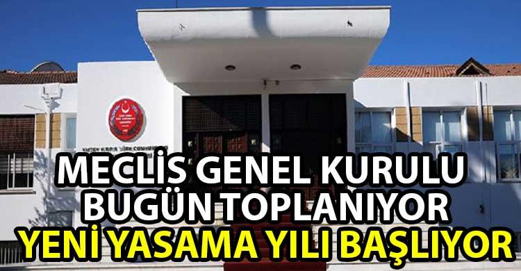 ozgur_gazete_kibris_9_uncu_Donem_4_uncu_Yasama_Yili_bugun_basliyor