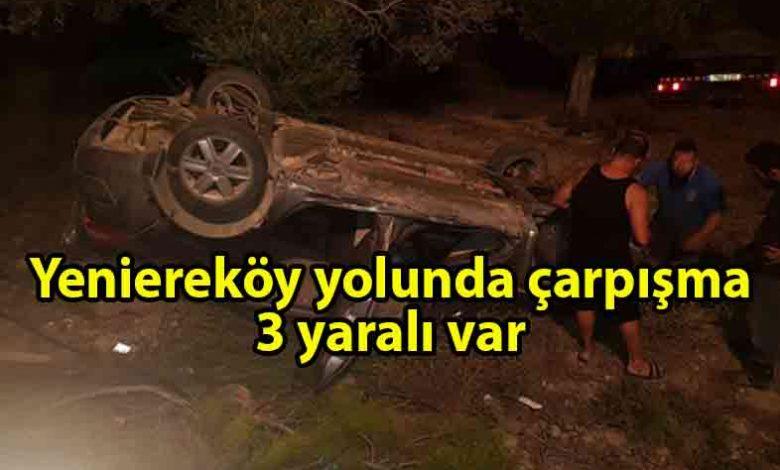 ozgur_gazete_kibris_Adacay-_Yenierekoy_Anayolunda_carpisma