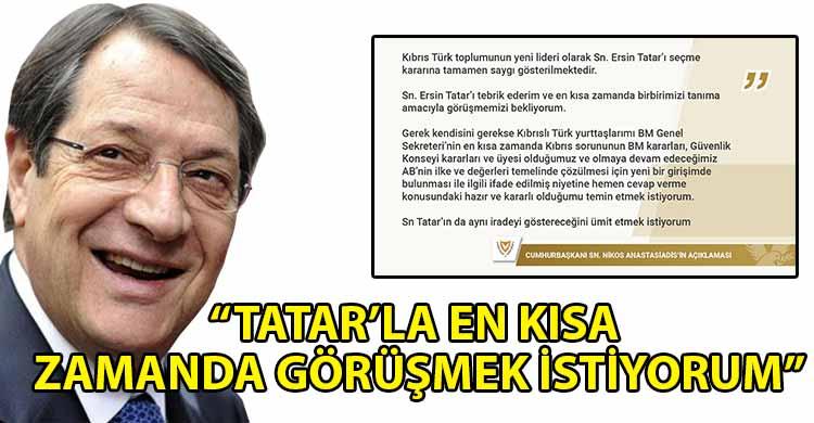 ozgur_gazete_kibris_Anastasiadis_ten_Tatar_a_davet