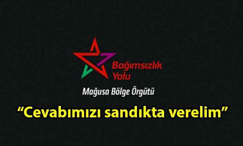 ozgur_gazete_kibris_Bağımsızlık_Yolu_Seçim_şovu