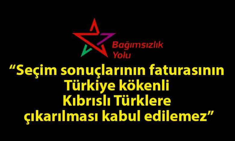 ozgur_gazete_kibris_Bağımsızlık_Yolu_seçimleri_değerlendirdi