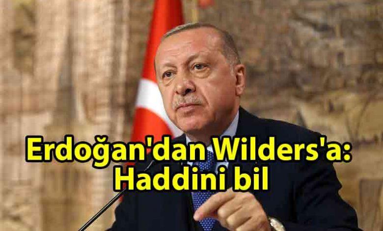 ozgur_gazete_kibris_Cumhurbaşkanı_Erdoğan'dan_Wilders'a_tepki