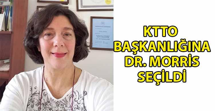 ozgur_gazete_kibris_Dr_Yonca_Morris_oybirligi_ile_KTTO_Baskanligina_secildi