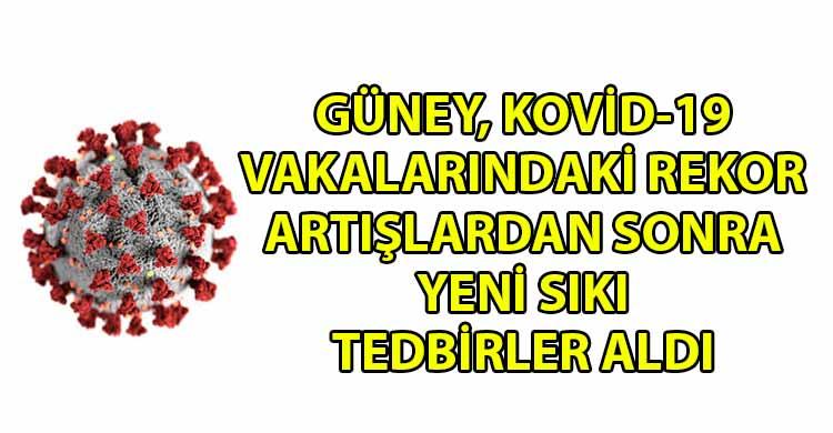 ozgur_gazete_kibris_Guneyde_yeni_koronavirus_onlemleri_alindi