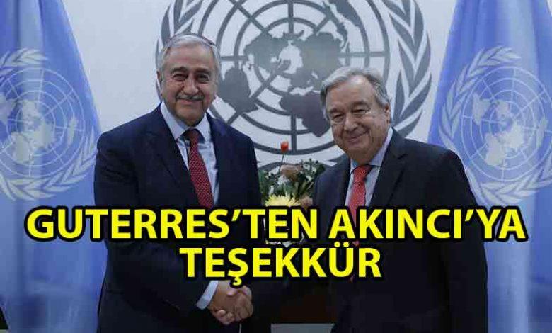 ozgur_gazete_kibris_Guterres'ten_Akıncı'ya_mektup