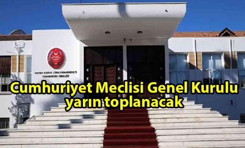 ozgur_gazete_kibris_Meclis_Genel_Kurulu_yarın_toplanacak