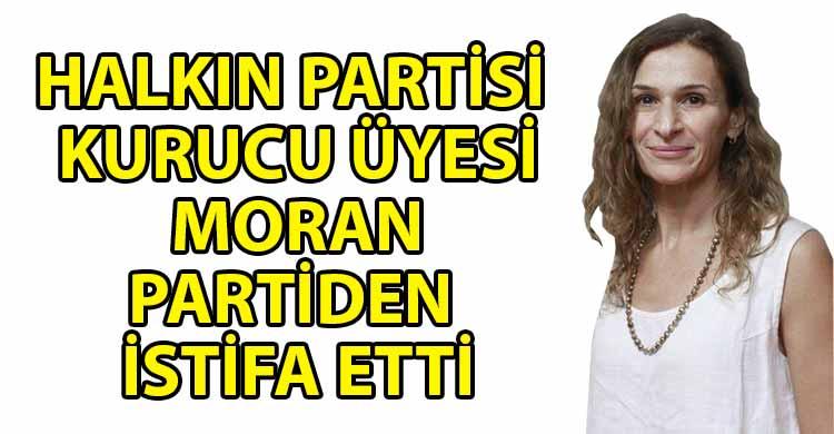 ozgur_gazete_kibris_Moran_dan_HP_elestiri_uyelikten_istifa