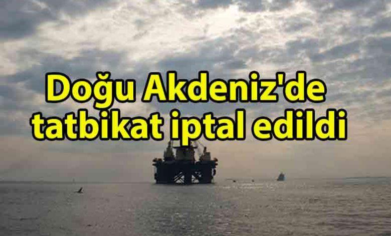 ozgur_gazete_kibris_NATO_duyurdu_Doğu_Akdeniz'de_tatbikat_iptali