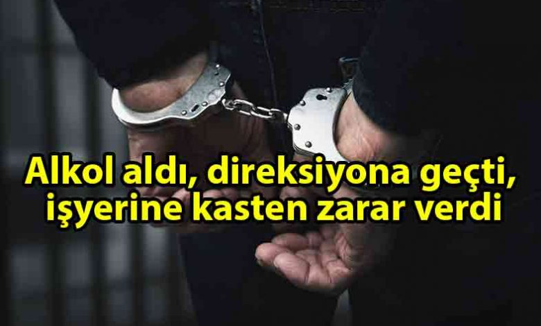 ozgur_gazete_kibris_Pizza_Family_restorana_zarar_veren_zanlı_tutuklandı