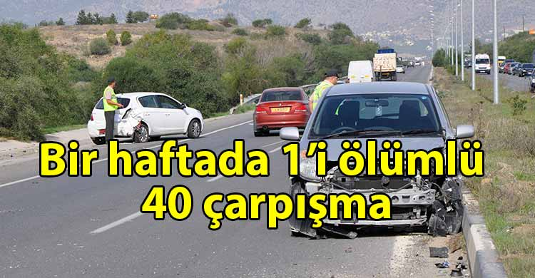 ozgur_gazete_kibris_Polis_haftalık_trafik_raporunu_açıkladı