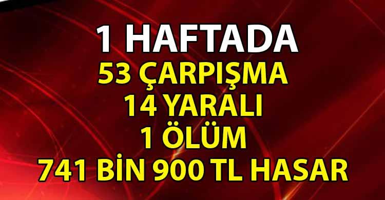 ozgur_gazete_kibris_Polis_haftalik_trafik_raporunu_acikladi