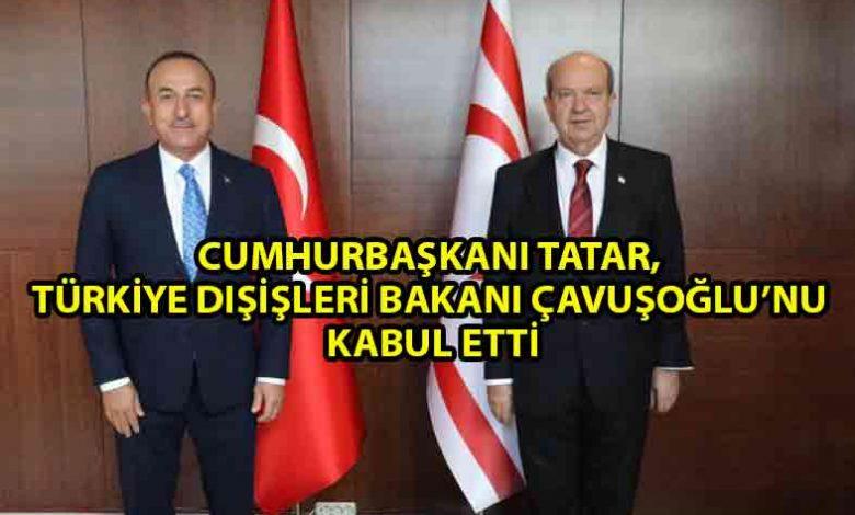 ozgur_gazete_kibris_Tatar_Çavuşoğlu_görüşmesi_başladı