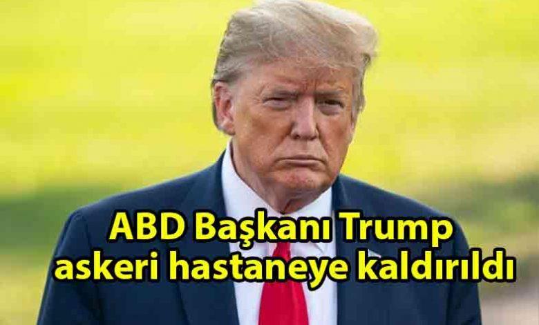 ozgur_gazete_kibris_Trump_hastaneye_kaldırıldı