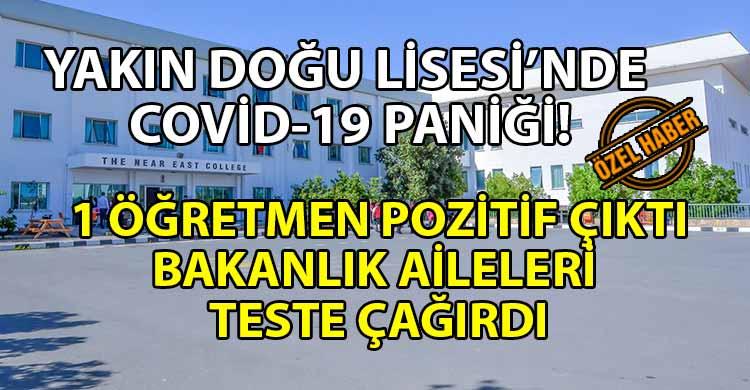 ozgur_gazete_kibris_Yakin_Dogu_Lisesinde_Covid_19_panigi