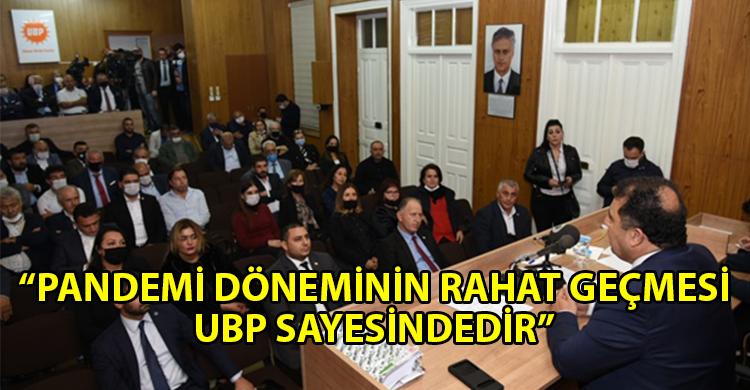 ozgur_gazete_kibris_Ulusal_Birlik_Partisi_Parti_Meclisi_toplandi