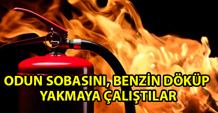 ozgur_gazete_kibris_Catalkoy_de_odun_sobasindan_yangin_cikti