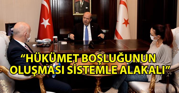 ozgur_gazete_kibris_Cumhurbaşkanı_Ersin_Tatar_gelişmeleri_değerlendirdi