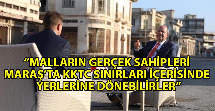 ozgur_gazete_kibris_Cumhurbaşkanı_Tatar'dan_Maraş_açıklaması