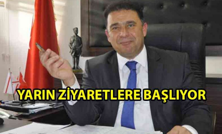 ozgur_gazete_kibris_saner_yarin_ziyaretlere_basliyor
