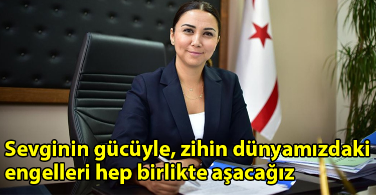 ozgur_gazete_kibris_İcisleri_Bakani_Baybars_Engelliler_Gunu_dolayisiyla_mesaj_yayimladi