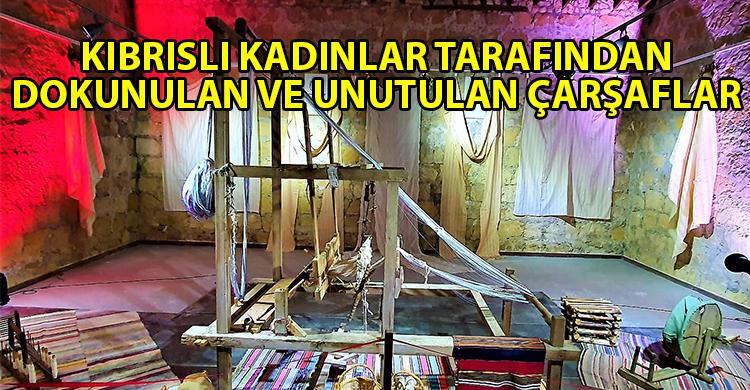 ozgur_gazete_kibris_Akademi_Sanat_Dernegi_nin_Kaybolan_Kulturumuz_Carsaflarimiz_sergisi_acildi