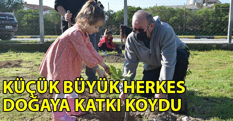 ozgur_gazete_kibris_Taskinkoy_de_fidan_dikildi