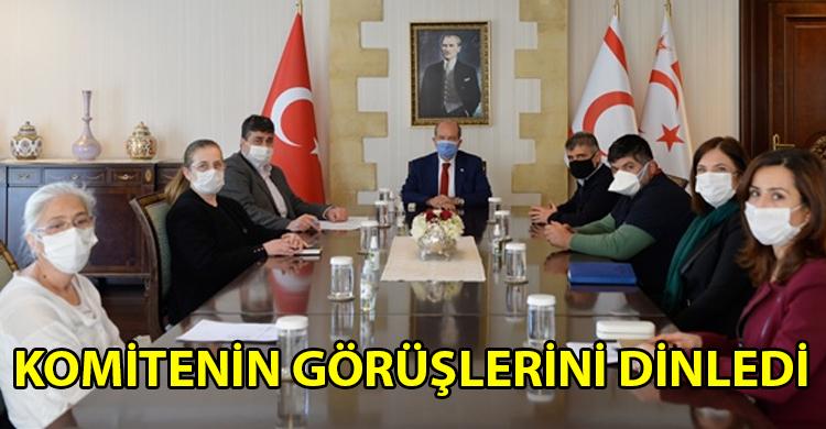ozgur_gazete_kibris_Cumhurbaskani_Tatar_Bulasici_Hastaliklar_Ust_Komitesini_toplantiya_cagirdi