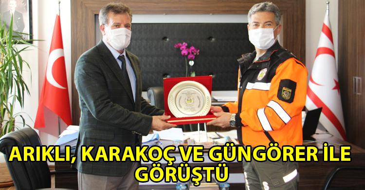 ozgur_gazete_kibris_Karakoc_Arikli_yi_kutladi_ve_yeni_gorevinde_basarilar_diledi
