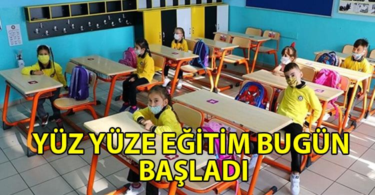 ozgur_gazete_kibris_Okullarda_seyreltilmis_yuz_yuze_egitim_bugun_basladi