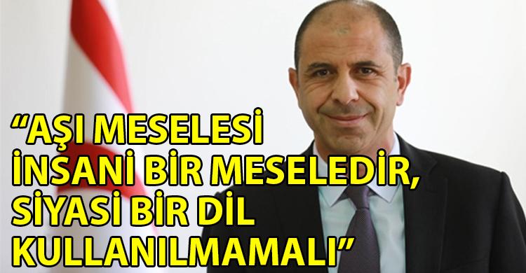 ozgur_gazete_kibris_Ozersay_Siyasi_bir_dil_kullanmamak_ve_dikkatli_olmak_gerekir
