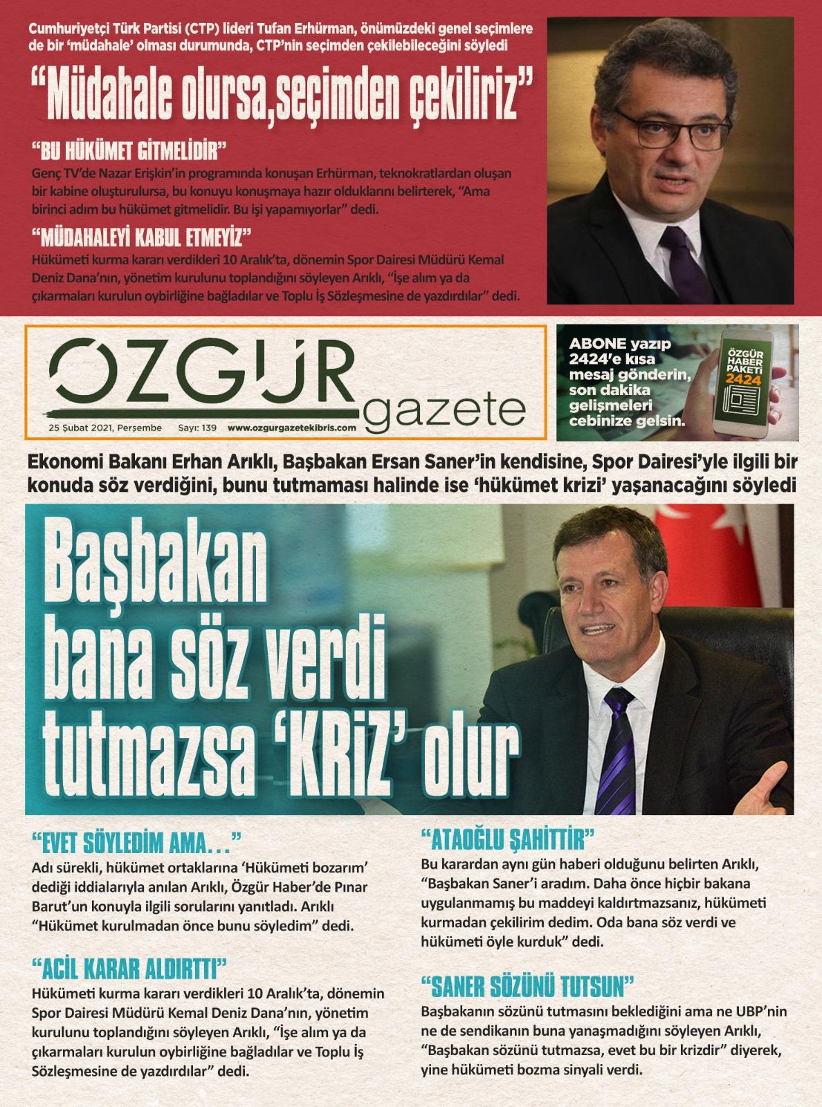 ozgur_gazete_kibris_manset