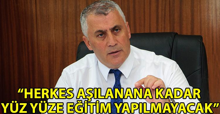 ozgur_gazete_kibris_Amcaoglu_İlk_ve_orta_egitimde_20_bin_500_kisi_asilanmali