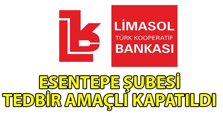 ozgur_gazete_kibris_Limasol_Bankasi_Esentepe_Subesi_nde_1_calisan_pozitif