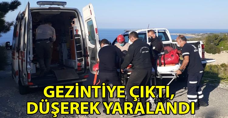 ozgur_gazete_kibris_Yaralanan_motosikletlinin_yardimina_Sivil_Savunma_ekipleri_kostu