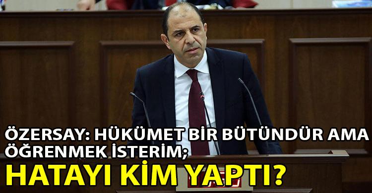 ozgur_gazete_kibris_ Ozersay_dan_Basbakan_Saner_e_ve_hukumet_bakanlarina_zor_sorular