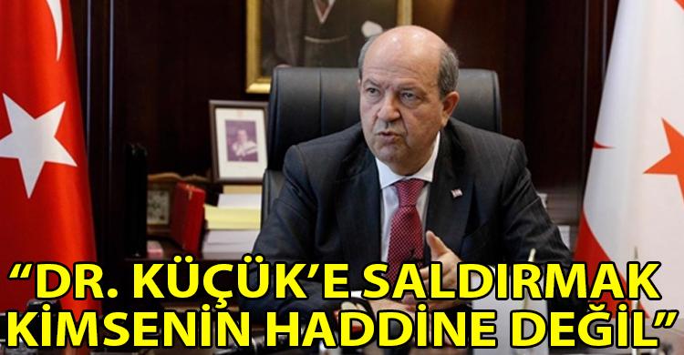 ozgur_gazete_kibris_Cumhurbaskani_Tatar_Dr_Kucuk_e_yonelik_saldirilari_kinadi