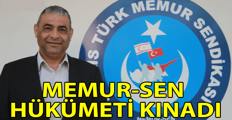 ozgur_gazete_kibris_Memur_Sen_Hukumeti_kinadi
