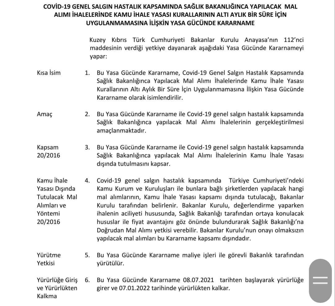 ozgur_gazete_kibris_yasa_gucunde_kararname