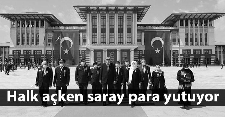 ozgur_gazete_kibris_saray_ödenek_tasarruf