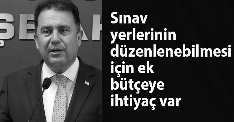 ozgur_gazete_kibris_saner_sinav_yerleri_duzenleme_ek_butçe